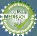 zertifizierte Gesundheitswebseite medisuch 2012