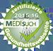 zertifizierte Gesundheitswebseite medisuch 2015