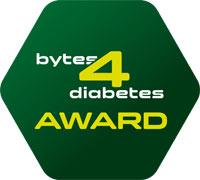 Logo: bytesd4diabetes-award