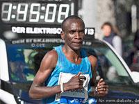 Eliud Kipchoge beim Berlin-Marathon 2015