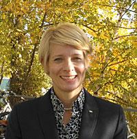 Barbara Bitzer, Geschäftsführerin der Deutschen Diabetes Gesellschaft(DDG)