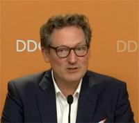 Dr. Eckart von Hirschhausen bei PK der Deutschen Diabetes Gesellschaft