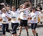 Teilnehmer beim Gutenberg Marathon