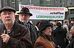 Diabetiker demonstrieren für Blutzuckerteststreifen