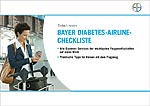 Diabetes-Airline-Checkliste