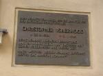 Gedenktafel Christopher Isherwood