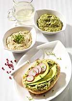 Feinschmecker-Frühstück mit Avocado