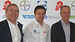 Prof. Hans-Georg Predel, Dr. Michael Rosenbaum und Prof. Ingo Froböse