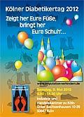 Plakat zum Kölner Diabetikertag