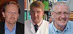 v.l.n.r Prof. Hamann, Prof. Palitzsch und Herr Schreiber