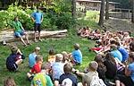 Daniel Schnelting motiviert Kinder mit Diabetes
