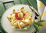 Käse-Nudelsalat mit Avocado