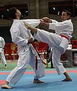 Karateka und Diabetiker Alexander Piel