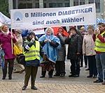 Diabetiker protestieren gegen Versorgungseinschränkungen