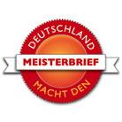 Logo der Initiative 'Deutschland mach den Meisterbrief'