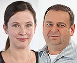 Dr. Melanie Waldenberger und Dr. Christian Gieger