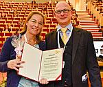 PD Dr. Nora Klöting mit PD Dr. Stefan Engeli