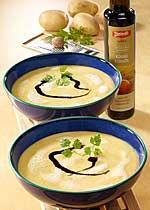 Kartoffel-Kürbis-Schaumsuppe