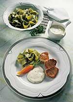 Schweinefilet mit Gorgonzola-Sauce