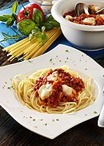 Spaghetti nach Bologneser Art