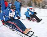 Langlaufsprint-Wettkampf bei den CJD Winterspielen