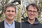 PD Dr. Wolfgang zu Castell (li.) und Dr. David Endesfelder