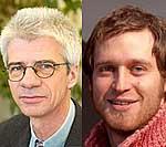Prof. Rolf Holle und Michael Laxy (v.l.n.r.)