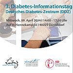 Flyer zum 3. Diabetes-Informationstag am DDZ