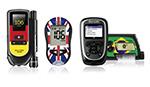 Geräte für Diabetiker mit Länderstickern