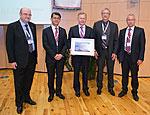 Prof. Michael Rohden bei der Preisverleihung