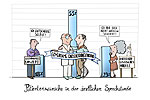 Cartoon Patientenwünsche