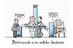 Cartoon Patientenwünsche