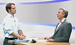 Martin Hadder, Landesvorsitzender der Deutschen Diabetes Hilfe Nordrhein-Westfalen im Studiogespräch