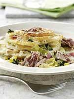 Rezept Kartoffelgratin mit Thunfisch