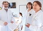 Prof. Dr. med. Wolfgang Kerner mit seinem Team