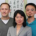 Dr. Stefan Brandmaier, Dr. Rui Wang-Sattler und Dr. TaoXu