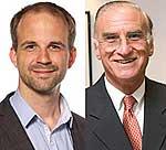 Dr. Siegfried Ussar und Prof. C. Ronald Kahn