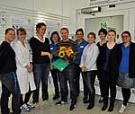 Studienzentrum der Nationalen Kohorte(NAKO) Berlin-Nord feiert 2.000sten Studienteilnehme