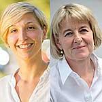 Meike Köhler und Prof. Anette-Gabriele Ziegler