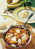 Putengeschnetzeltes mit Curry