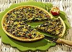Spinat-Quiche mit Gorgonzola