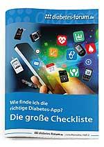 Broschüre: Wie finde ich die richtige Diabetes-App?