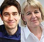 Dr. Andreas Beyerlein und Prof.Dr.Anette-Gabriele Ziegler