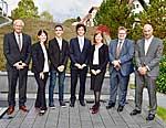 Mitglieder der Stiftung und die Preisträger