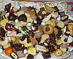 Selbst gebackene Kekse