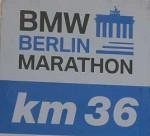 Berlin-Marathon bei Kilometer 36