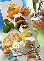 Fruchtige Käse-Spieße