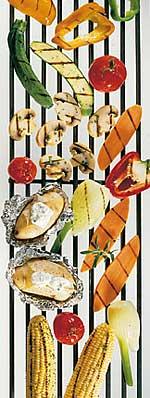 Vegetarisches vom Grill