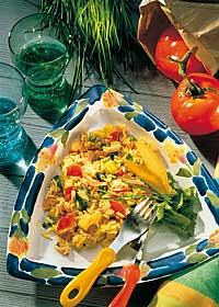 Leichter Reissalat mit Mango