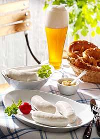 Weißwurst-Frühstück zum Oktoberfest